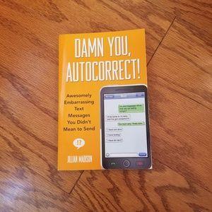 Damn you, Autocorrect! Book